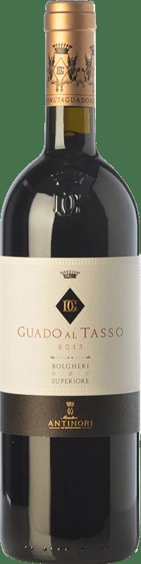 129,95 € Envoi gratuit | Vin rouge Guado al Tasso D.O.C. Bolgheri Toscane Italie Merlot, Syrah, Cabernet Sauvignon Bouteille 75 cl