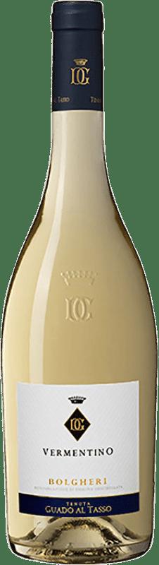 16,95 € Free Shipping | White wine Guado al Tasso D.O.C. Bolgheri Tuscany Italy Vermentino Bottle 75 cl