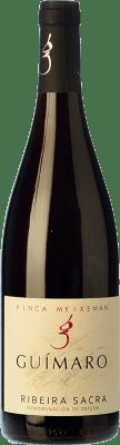 17,95 € Free Shipping | Red wine Guímaro Finca Meixemán Crianza D.O. Ribeira Sacra Galicia Spain Mencía, Grenache Tintorera, Sousón, Caíño Black, Brancellao, Merenzao Bottle 75 cl