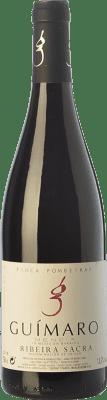 34,95 € Envío gratis | Vino tinto Guímaro Finca Pombeiras Crianza D.O. Ribeira Sacra Galicia España Mencía, Sousón, Caíño Tinto, Brancellao, Merenzao Botella 75 cl
