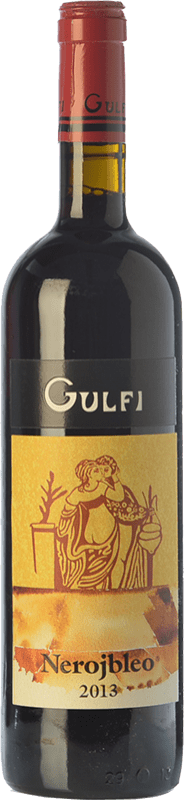 18,95 € Free Shipping | Red wine Gulfi Nerojbleo I.G.T. Terre Siciliane Sicily Italy Nero d'Avola Bottle 75 cl