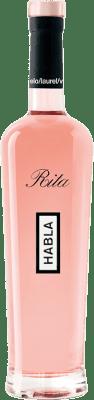 29,95 € Envoi gratuit | Vin rose Habla de Rita A.O.C. Côtes de Provence Provence France Syrah, Grenache Bouteille 75 cl