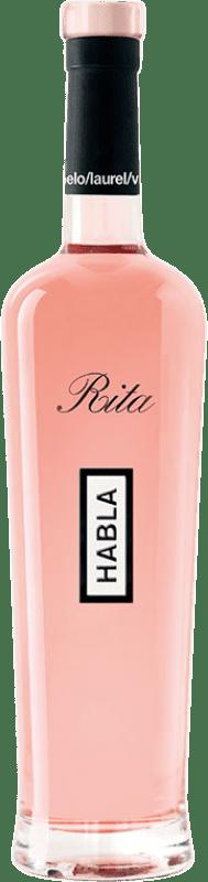 19,95 € Free Shipping | Rosé wine Habla de Rita A.O.C. Côtes de Provence Provence France Syrah, Grenache Bottle 75 cl