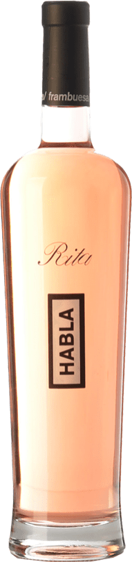 19,95 € Envío gratis | Vino rosado Habla de Rita A.O.C. Côtes de Provence Provence Francia Syrah, Garnacha Botella 75 cl