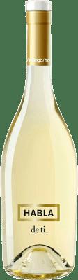 9,95 € Envío gratis | Vino blanco Habla de Ti España Sauvignon Blanca Botella 75 cl