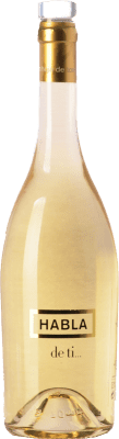 12,95 € Free Shipping | White wine Habla de Ti Spain Sauvignon White Bottle 75 cl