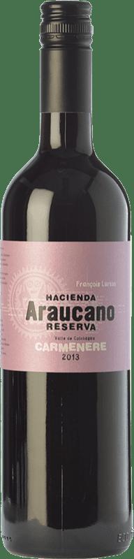 13,95 € Free Shipping | Red wine Araucano Reserva I.G. Valle de Colchagua Colchagua Valley Chile Carmenère Bottle 75 cl