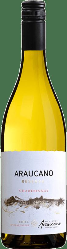 13,95 € Free Shipping | White wine Araucano Reserva I.G. Valle de Colchagua Colchagua Valley Chile Chardonnay Bottle 75 cl