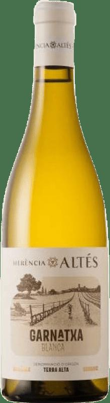 9,95 € Envío gratis | Vino blanco Herència Altés Garnatxa D.O. Terra Alta Cataluña España Garnacha Blanca Botella 75 cl