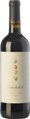 21,95 € Envoi gratuit | Vin rouge Hernando & Sourdais Antídoto Crianza D.O. Ribera del Duero Castille et Leon Espagne Tempranillo Bouteille 75 cl