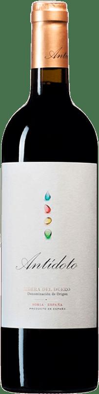 16,95 € Envío gratis | Vino tinto Hernando & Sourdais Antídoto Crianza D.O. Ribera del Duero Castilla y León España Tempranillo Botella 75 cl