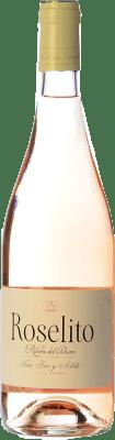 9,95 € Kostenloser Versand | Rosé-Wein Hernando & Sourdais Roselito de Antídoto D.O. Ribera del Duero Kastilien und León Spanien Tempranillo, Albillo Flasche 75 cl