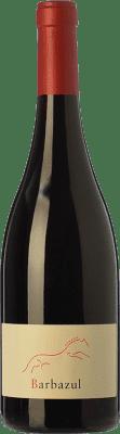 9,95 € Free Shipping | Red wine Huerta de Albalá Barbazul Roble I.G.P. Vino de la Tierra de Cádiz Andalusia Spain Merlot, Syrah, Cabernet Sauvignon, Tintilla Bottle 75 cl