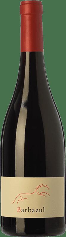 8,95 € Envío gratis | Vino tinto Huerta de Albalá Barbazul Roble I.G.P. Vino de la Tierra de Cádiz Andalucía España Merlot, Syrah, Cabernet Sauvignon, Tintilla Botella 75 cl