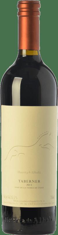 19,95 € Envío gratis | Vino tinto Huerta de Albalá Taberner Crianza I.G.P. Vino de la Tierra de Cádiz Andalucía España Merlot, Syrah, Cabernet Sauvignon Botella 75 cl