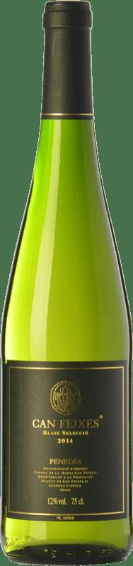 7,95 € Free Shipping | White wine Huguet de Can Feixes Blanc Selecció D.O. Penedès Catalonia Spain Malvasía, Macabeo, Chardonnay, Parellada Bottle 75 cl