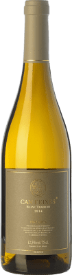 11,95 € Kostenloser Versand | Weißwein Huguet de Can Feixes Blanc Tradició Crianza D.O. Penedès Katalonien Spanien Xarel·lo, Malvasía de Sitges Flasche 75 cl