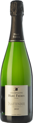 43,95 € Free Shipping | White sparkling Huré Frères L'Inattendue Blanc de Blancs 2011 A.O.C. Champagne Champagne France Chardonnay Bottle 75 cl. | Thousands of wine lovers trust us to get the best price guarantee, free shipping always and hassle-free shopping and returns.