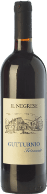 8,95 € Free Shipping | Red sparkling Il Negrese Frizzante D.O.C. Gutturnio Emilia-Romagna Italy Barbera, Croatina Bottle 75 cl