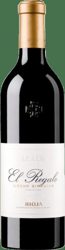 21,95 € Spedizione Gratuita | Vino rosso Izadi El Regalo Crianza D.O.Ca. Rioja La Rioja Spagna Tempranillo Bottiglia 75 cl