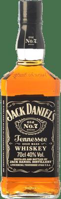 19,95 € Envío gratis | Bourbon Jack Daniel's No. 7 Tennessee Estados Unidos Botella 70 cl