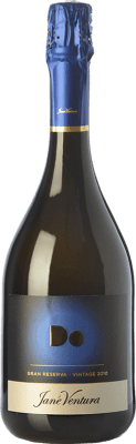 18,95 € Free Shipping | White sparkling Jané Ventura Brut Nature Gran Reserva D.O. Cava Catalonia Spain Macabeo, Xarel·lo, Parellada Bottle 75 cl