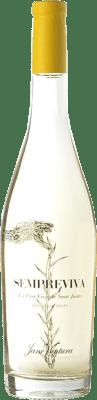 11,95 € Free Shipping | White wine Jané Ventura Sempreviva D.O. Penedès Catalonia Spain Malvasía de Sitges Bottle 75 cl