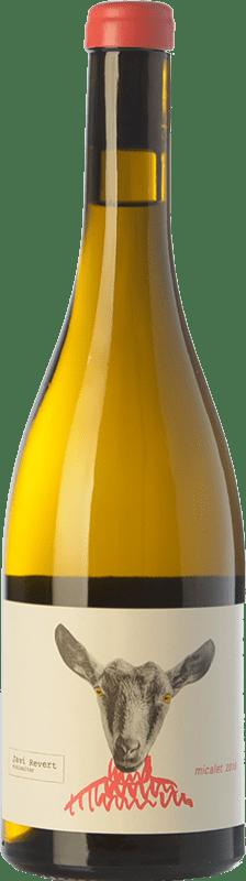 18,95 € Envío gratis | Vino blanco Javi Revert Micalet Crianza D.O. Valencia Comunidad Valenciana España Malvasía, Merseguera, Trapadell, Tortosí Botella 75 cl