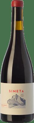 37,95 € Free Shipping | Red wine Javi Revert Simeta Crianza D.O. Valencia Valencian Community Spain Arco Bottle 75 cl