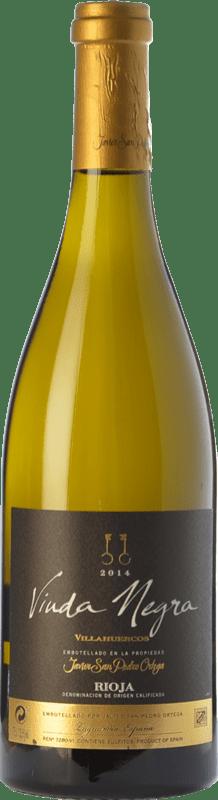 18,95 € Envoi gratuit | Vin blanc San Pedro Ortega Viuda Negra Villahuercos Crianza D.O.Ca. Rioja La Rioja Espagne Tempranillo Blanc Bouteille 75 cl