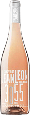 14,95 € Free Shipping | Rosé wine Jean Leon 3055 Rosé D.O. Penedès Catalonia Spain Pinot Black Bottle 75 cl