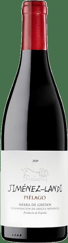 29,95 € Envío gratis | Vino tinto Jiménez-Landi Piélago Crianza D.O. Méntrida Castilla la Mancha España Garnacha Botella 75 cl
