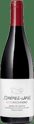 15,95 € Envío gratis | Vino tinto Jiménez-Landi Sotorrondero Crianza D.O. Méntrida Castilla la Mancha España Syrah, Garnacha Botella 75 cl
