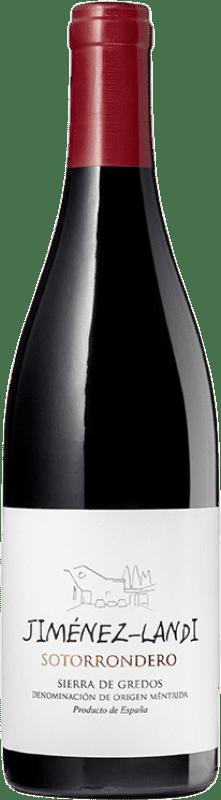 15,95 € Free Shipping | Red wine Jiménez-Landi Sotorrondero Crianza D.O. Méntrida Castilla la Mancha Spain Syrah, Grenache Bottle 75 cl