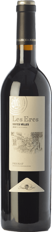 32,95 € Free Shipping | Red wine Joan Simó Les Eres Vinyes Velles Crianza D.O.Ca. Priorat Catalonia Spain Grenache, Cabernet Sauvignon, Carignan Bottle 75 cl
