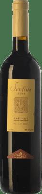 17,95 € Free Shipping | Red wine Joan Simó Les Sentius Crianza D.O.Ca. Priorat Catalonia Spain Syrah, Grenache, Cabernet Sauvignon, Carignan Bottle 75 cl