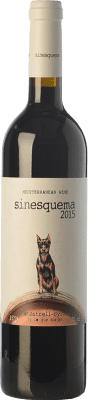 21,95 € Free Shipping   Red wine Jorge Piernas Sinesquema Joven D.O. Bullas Region of Murcia Spain Syrah, Monastrell Bottle 75 cl