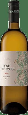 9,95 € Envío gratis | Vino blanco José Pariente D.O. Rueda Castilla y León España Sauvignon Blanca Botella 75 cl