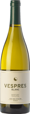 16,95 € Free Shipping | White wine Josep Grau Vespres Blanc Crianza D.O. Montsant Catalonia Spain Grenache White Bottle 75 cl