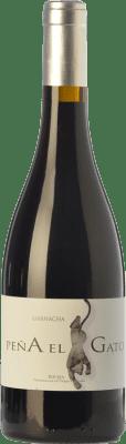 16,95 € Free Shipping | Red wine Sancha Peña El Gato Crianza D.O.Ca. Rioja The Rioja Spain Grenache Bottle 75 cl