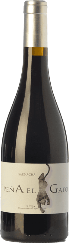 16,95 € Envío gratis | Vino tinto Sancha Peña El Gato Crianza D.O.Ca. Rioja La Rioja España Garnacha Botella 75 cl