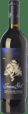 24,95 € Envoi gratuit | Vin rouge Juan Gil Etiqueta Azul Crianza D.O. Jumilla Castilla La Mancha Espagne Syrah, Cabernet Sauvignon, Monastrell Bouteille 75 cl