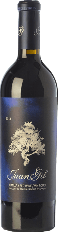 25,95 € Envoi gratuit | Vin rouge Juan Gil Etiqueta Azul Crianza D.O. Jumilla Castilla La Mancha Espagne Syrah, Cabernet Sauvignon, Monastrell Bouteille 75 cl