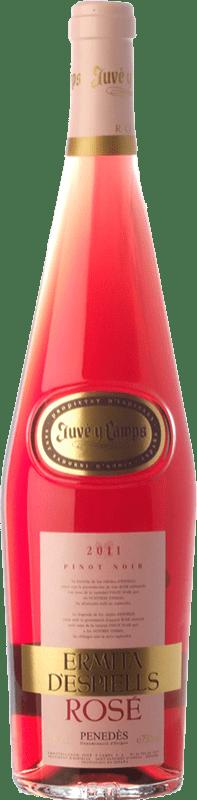 6,95 € Free Shipping   Rosé wine Juvé y Camps Ermita d'Espiells Rosé D.O. Penedès Catalonia Spain Pinot Black Bottle 75 cl