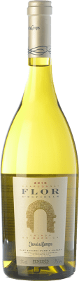 19,95 € Free Shipping | White wine Juvé y Camps Flor d'Espiells Crianza D.O. Penedès Catalonia Spain Chardonnay Bottle 75 cl | Thousands of wine lovers trust us to get the best price guarantee, free shipping always and hassle-free shopping and returns.
