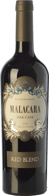 14,95 € Free Shipping | Red wine Kauzo Malacara Oak Cask Red Blend Joven I.G. Valle de Uco Uco Valley Argentina Merlot, Cabernet Sauvignon, Malbec Bottle 75 cl
