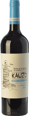 10,95 € Free Shipping | Red wine Kauzo Malbec-Cabernet Joven I.G. Valle de Uco Uco Valley Argentina Cabernet Sauvignon, Malbec Bottle 75 cl