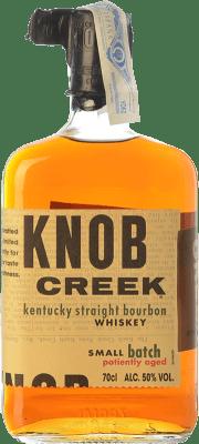 36,95 € Envío gratis | Bourbon Knob Creek Original Kentucky Estados Unidos Botella 70 cl