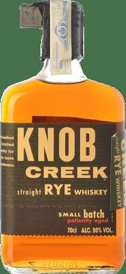 47,95 € Envío gratis | Bourbon Knob Creek Rye Kentucky Estados Unidos Botella 70 cl