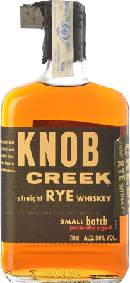 53,95 € Free Shipping | Bourbon Knob Creek Rye Kentucky United States Bottle 70 cl